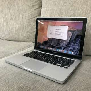 Macbook Pro 13-inch 4/320Gb Thn 2010 Mulus!