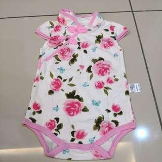 Baby Cheongsam Romper (6-12m)