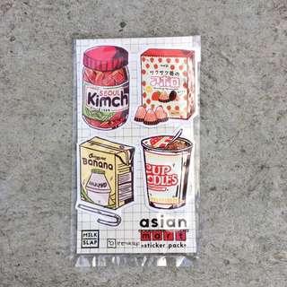Asian Mart sticker pack