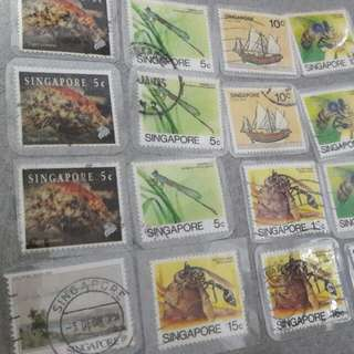 New and Used Singapore Stamps Collections