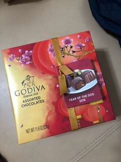 Godiva Chinese New Year Limited Edition Chocolate 朱古力