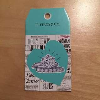 Tiffany&Co 紙卡牌一塊