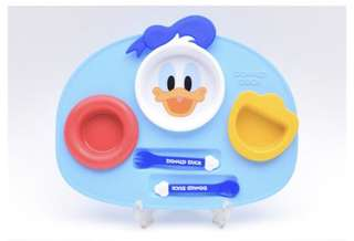 Donald duck lunch plate