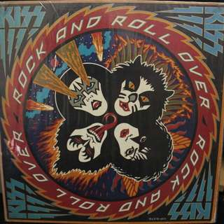 Kiss - Rock and Roll Over Vinyl Record