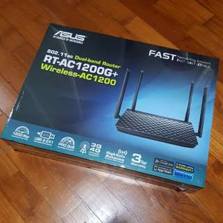 BNIB sealed Asus RT-AC1200G+