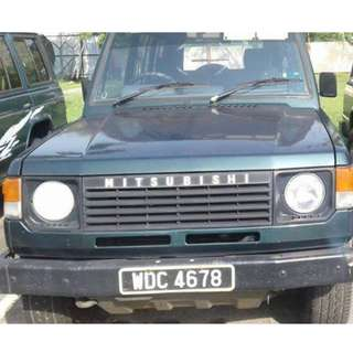 WDC 4678 Pajero 1993 LO47 (RM14.5K) All manual... all petrol.. tender item.. GOOD RUNNING CONDITION