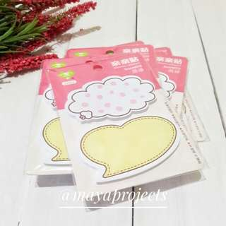 Talk Bubble Sticky Notepad