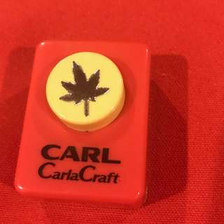 Carla Craft punch Leaf :)