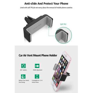 UGreen Universal Car Phone Holder Vehicle Air Vent Mount for Smart Phone