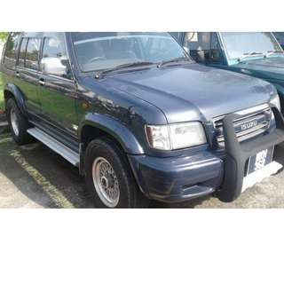 "WKH 362 ISUZU 2002 (RM15K) All manual... all petrol.. tender item.. ""as it is"""