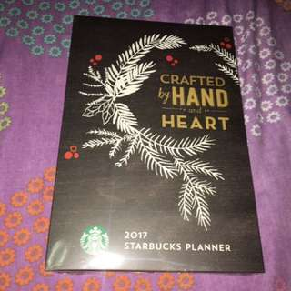 Starbucks planner 2017 sealed siren design