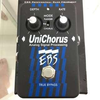 EBS UniChorus (chorus, flanger, pitch mod for bass)