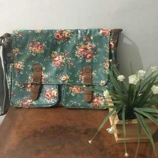 Floral Print Shoulder Bag