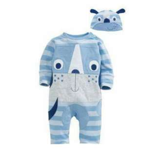Baby 2pc set long bodysuit