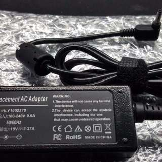 Asus 19v / 2.37A / 4.0*1.35mm Round Tip Laptop Charger Ready Stocks