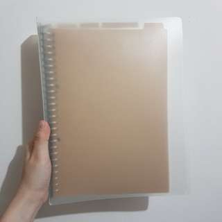 Muji - Binder Notebook