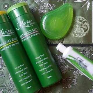 (INSTOCKS AVAIL) Authentic Marine Essence Bar Soap, Bamboo Salt Nourishing Shampoo, Body Wash & Toothpaste (ONLY VIA MAILING)