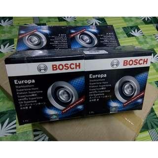 Bosch Europa 911 Supertone Horn Silver 12 Volts