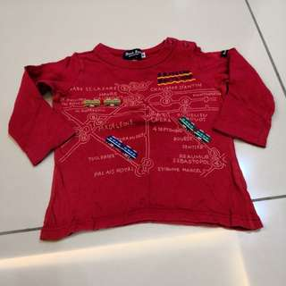 Black Bear shirt (1-2y)