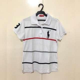 NWOT Striped Polo Shirt #3
