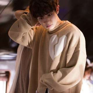 CHANYEOL OVERSIZED MISSING 9 SWEATER
