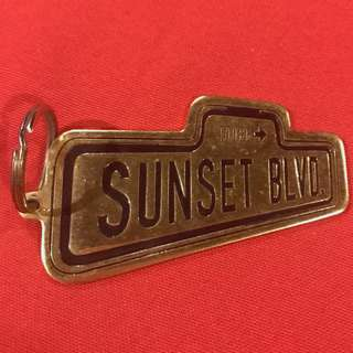 Sunset Blvd (West End musical) souvenir keychain 1992