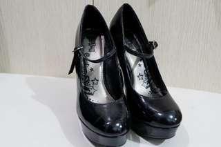 Black Mary Jane Heels