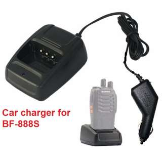 Car Battery Charger Base for walkie talkie Baofeng BF-888S BF-666S BF-777S HST H777 888S