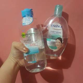 Micellar Water and Eskinol bundle (rush)