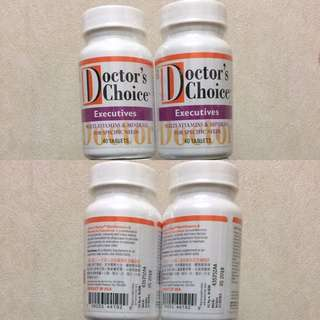 維特健靈 醫之選 Doctor's Choice Vitamins 維他命 (Executives)