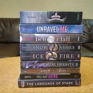 Assorted Brand New Books