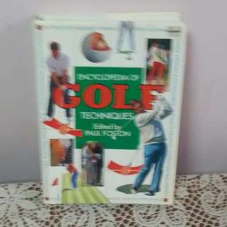Encyclopedia of golf techniques (edited by paul foston)