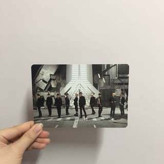 Super junior sixth album 團卡連簽名