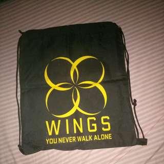 BTS YNWA stringbag
