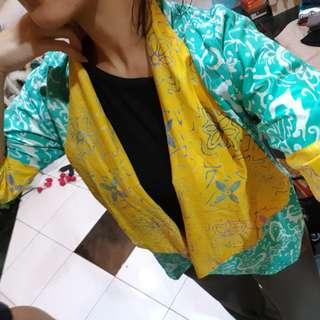 Blazer Batik bisa bulak balik