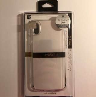 全新 Air Jacket for iPhone x(透明)