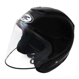 ARC RITZ PLAIN SHINING HELMET (BLACK)