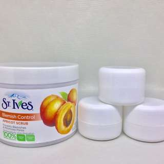 ST. IVES BLEMISH CONTROL - Apricot scrub share in jar