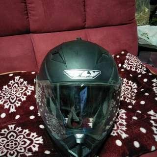 Fly trekker racing dual sport helmet