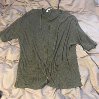 Long oversized comfy cardigan