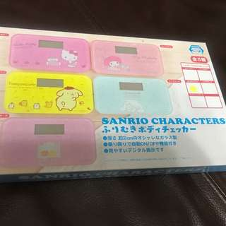 Sanrio 布甸狗電子磅