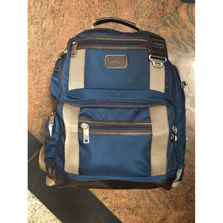 Alpha blue bagpack