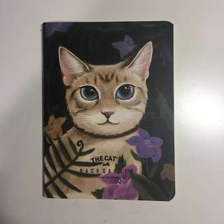 cat notebook mini
