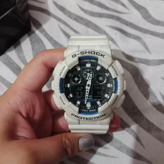 Authentic White G-Shock