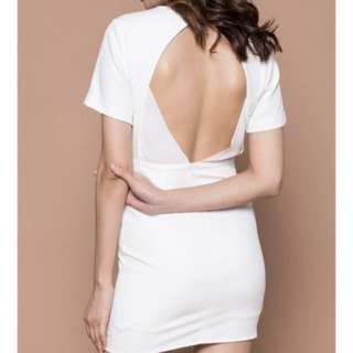 YHF BACKLESS DRESS