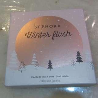 NEW Sephora Collection Winter Flush Blush Palette $12