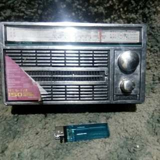 Radio fm model lawas