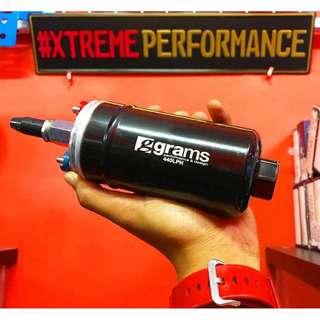 EXTERNAL FUEL PUMP GRAMS 440 lph