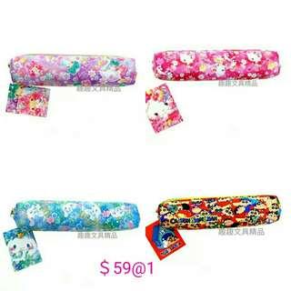 sanrio 玉桂狗 Kitty TwinStars 蠟筆小新 筆袋 化妆袋
