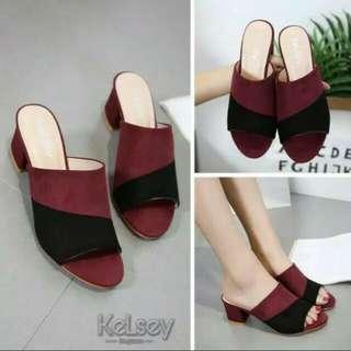 Sepatu wedges N06